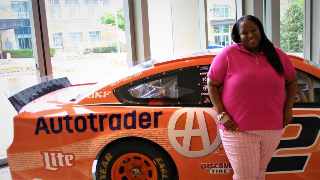 Team Member Shaferia Harris